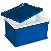 *While supplies last!* - Insulated box COOLBOX with slip lid