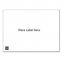 Adhesive label 165x114 mm