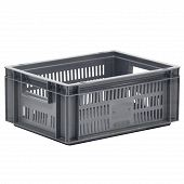 Stacking container ECO, solid base