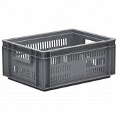 Stacking container ECO, slotted base