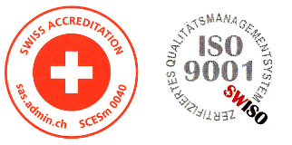 Swiss Accreditation / SWISO ISO 9001:2015