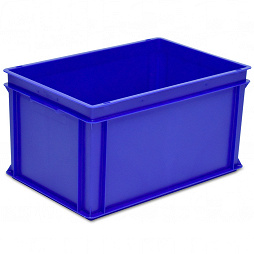 Stacking container RAKO, solid base