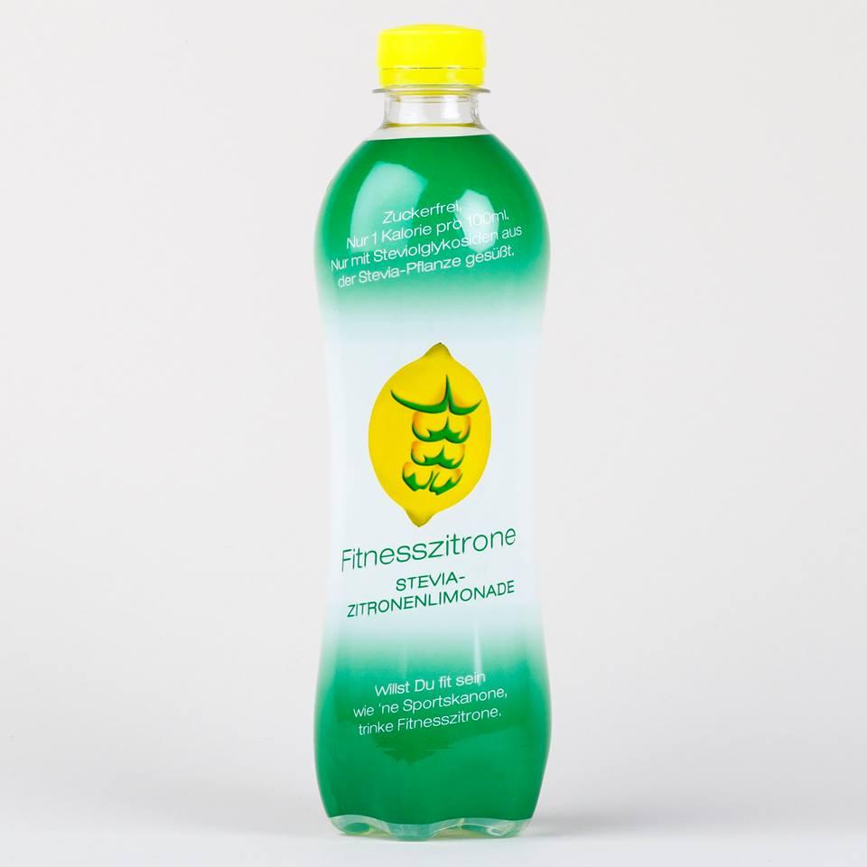 Sixpack Fitnesszitrone-Stevia-Zitronenlimonade | No Sugar Land ...