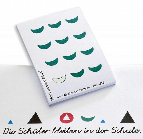Wortartensymbol Präposition Montessori, 300 Stück ...