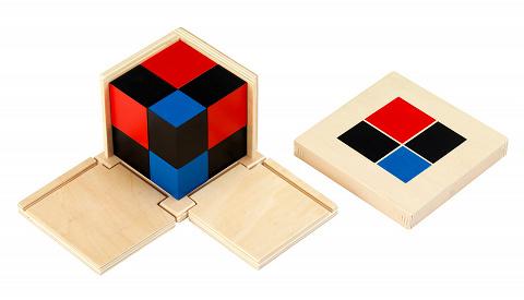 Binomischer Würfel, 10-teiliges Set