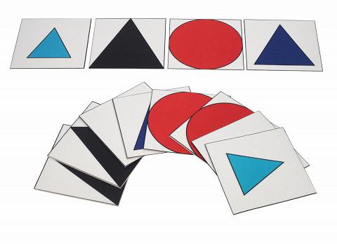 Montessori Wortartensymbole als große Teppichfliesen, ...