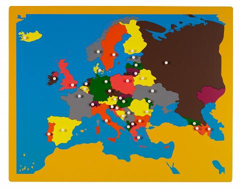 Großes Europapuzzle die Puzzle Karte Europa um alle ...