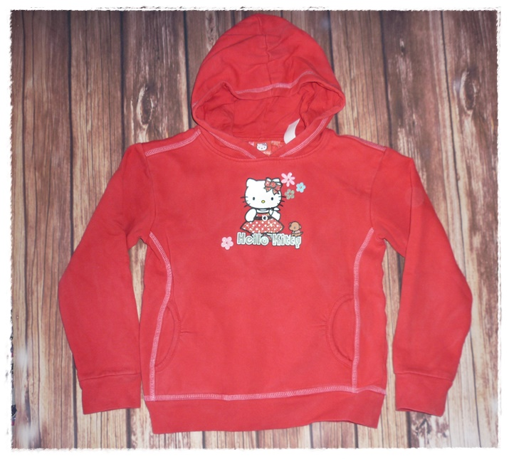 newest 97c46 9711f 08-Kapuzenpullover Gr. 128/134 Hello Kitty | Kinderfloh