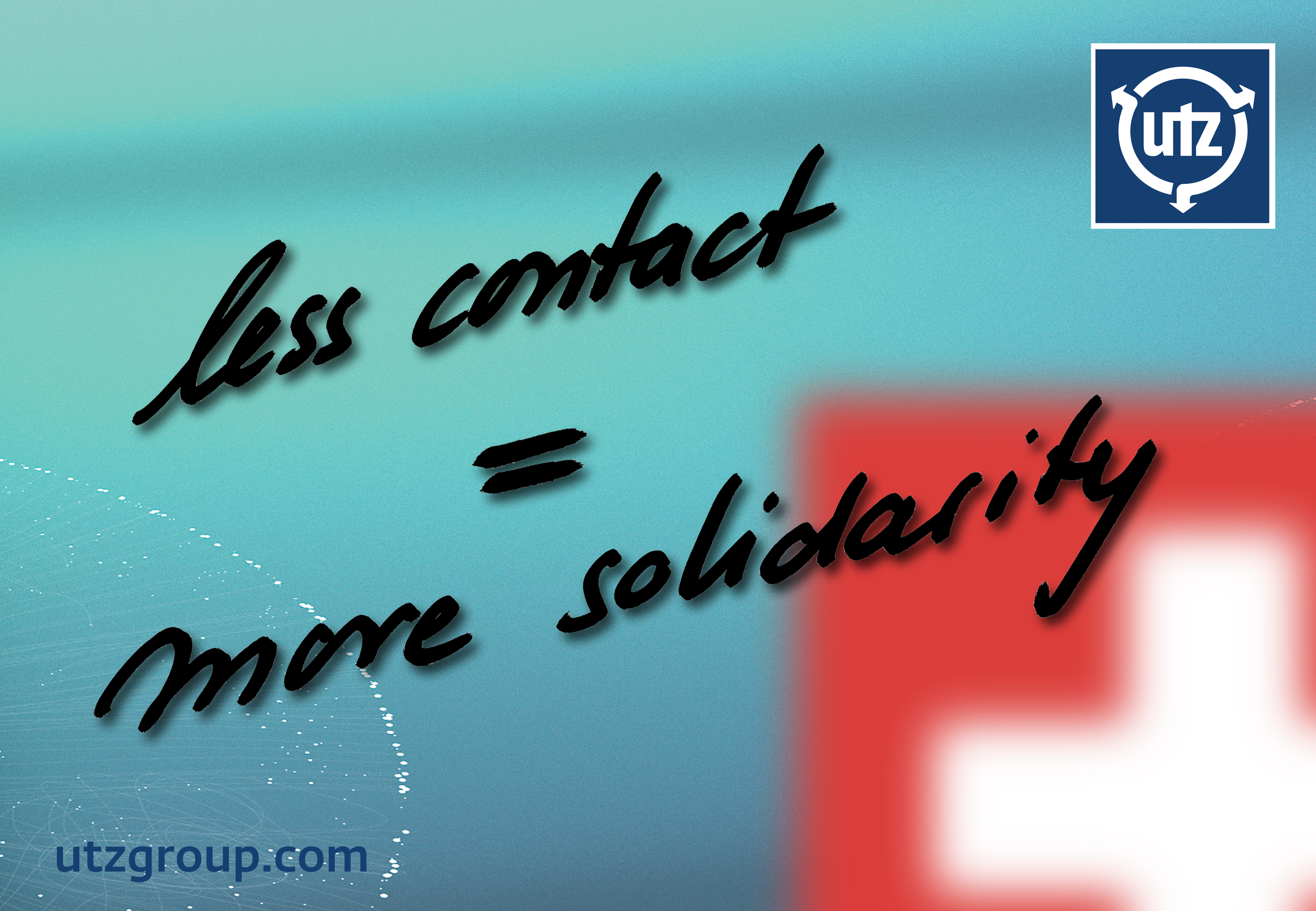 less contact = more solidarity